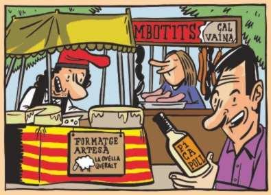 Auca de la festa de l 39 arr s de sant fruit s de bages - Pintur sant fruitos ...